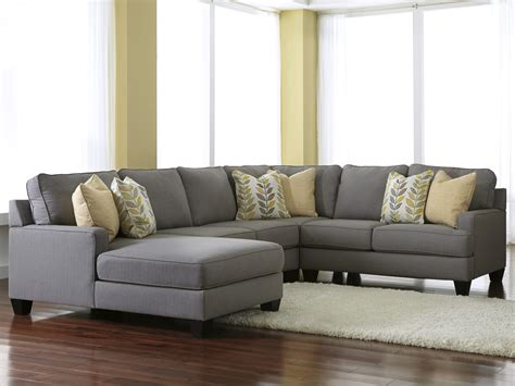 sectionals with chaise modern 4 sectional sofa with left chaise