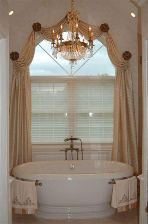 Bathroom Drapery Ideas by Bathroom Window Treatments Windows Gardiner Hem