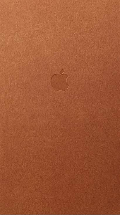 Iphone Brown Leather Wallpapers Apple Saddle Case