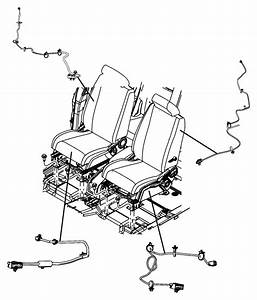 Dodge Journey Wiring  Seat  Right  Active Head Rest