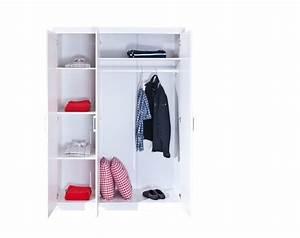 Armoire A Vetement : armoire v tements magnus pin massif ton blanc sb meubles discount ~ Teatrodelosmanantiales.com Idées de Décoration