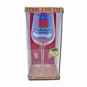 Verre à Vin Géant : verre vin g ant 30 ans ~ Teatrodelosmanantiales.com Idées de Décoration