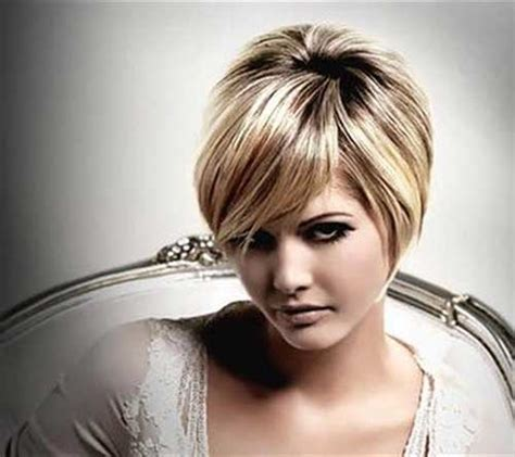 Short Haircuts For Chubby Faces   Short Hairstyles 2016