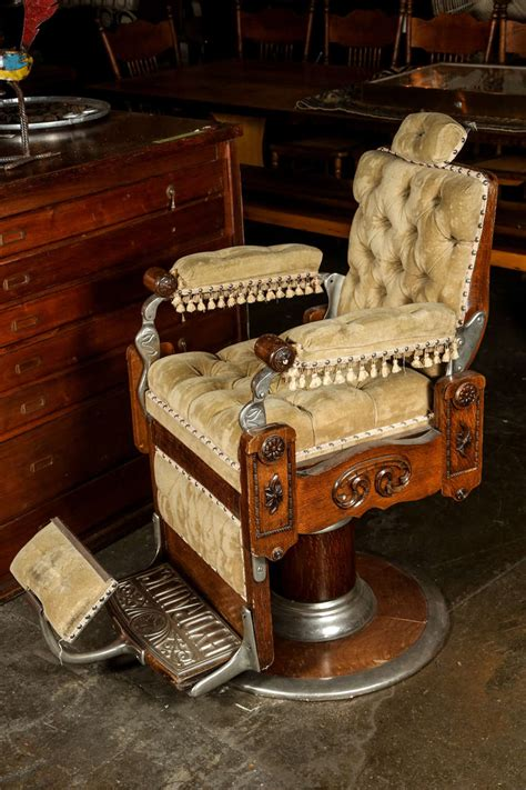 Craigslist Barber Chairs Antique by Restored 1800s Barber Chair By Kochs Image 4 Images Frompo