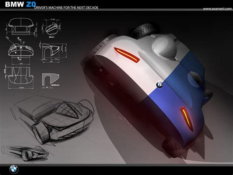 Bmw Z0 Concept By Andrei Avarvarii  Picture 254736 Car