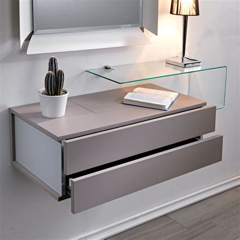 cassettiera per ingresso cassettiera pensile da parete due mobili in legno nel