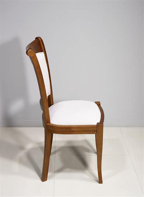 chaises merisier chaise ine en merisier massif de style louis philippe