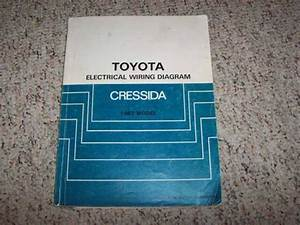 1987 Toyota Cressida Electrical Wiring Diagram Manual Std
