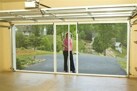Garage Door Screens Lowes by Fireplace Retractable Garage Door Screens Garage