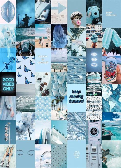 blues wall collage kit digital photo