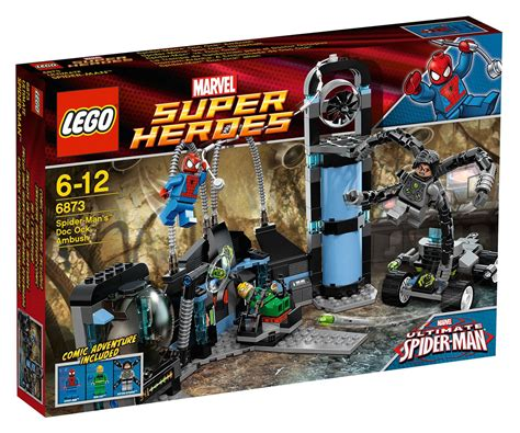 Lego Marvel Super Heroes 6873 Pas Cher Spider Man Vs