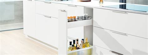 narrow kitchen cabinet solutions blum s idea for narrow cabinets azztek kitchens 3431