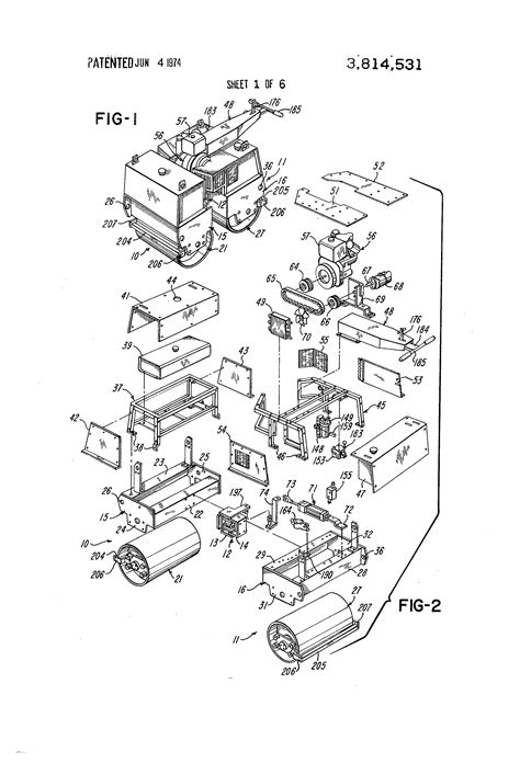 patent  articulated roller assembly google patents