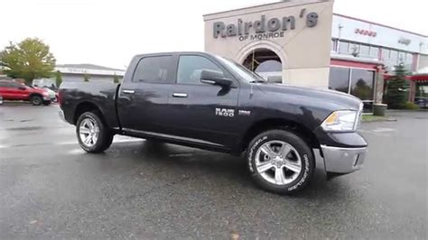 dodge ram  big horn crew cab maximum steel