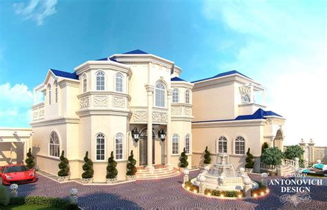 Home Design Qatar : Awesome Villa's Exterior Design In Qatar