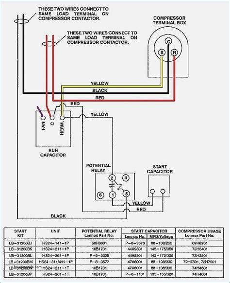 hvac capacitor wiring wiring diagram secrets