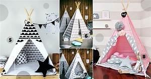 Tipi Chambre Bébé : tipi cabane et tente de jeu pour chambre d 39 enfant s lection d co ~ Teatrodelosmanantiales.com Idées de Décoration