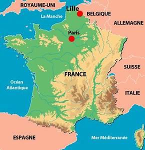 Bon Coin Lille De France : lille carte de france arts et voyages ~ Gottalentnigeria.com Avis de Voitures