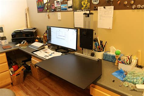 ergo desktop kangaroo pro standing desk review
