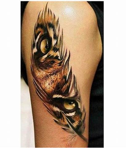 Feather Tattoos Birds State Above