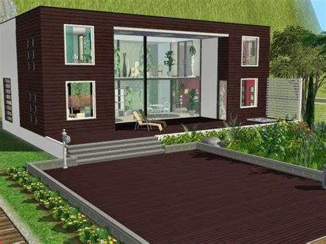Moderne Häuser Sims 2 by Simplified Sims 2 Haus Momo