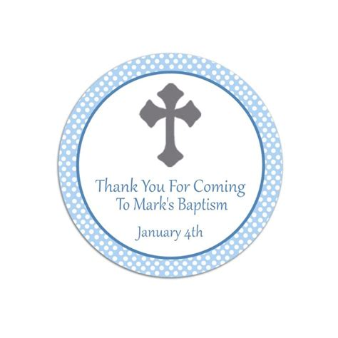 baptism   favor tags template   images