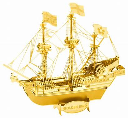 Golden Hind Metal Earth Ship Ships Kit