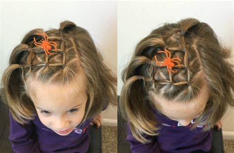 five easy halloween hairstyles for girls