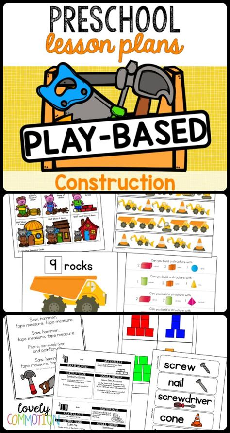 52 best construction theme images on 919 | f13fb39f0e442fddd4e5ddc76f64f6f2 learning through play construction theme