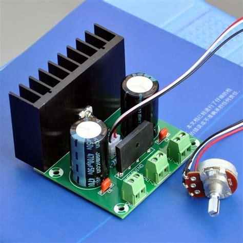 Amp Adjustable Voltage Regulator Board External Pot Ebay