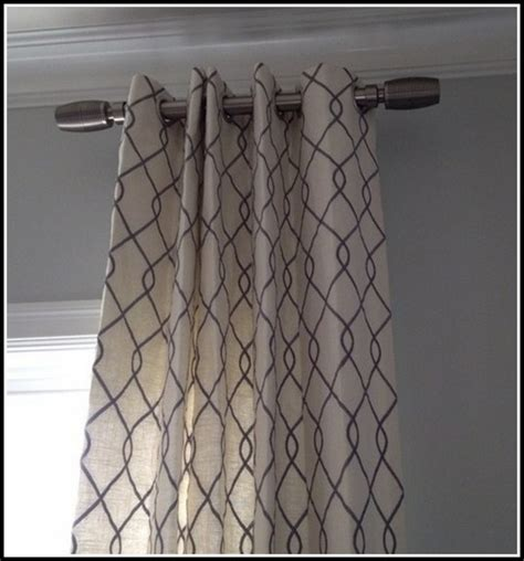 side panel curtain rods curtains home design