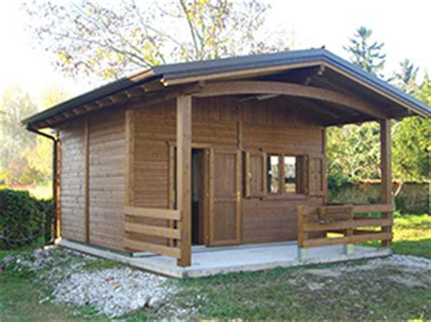 Cottage In Legno Prefabbricati Realizzazione Prefabbricati E Bungalow Edil Garden