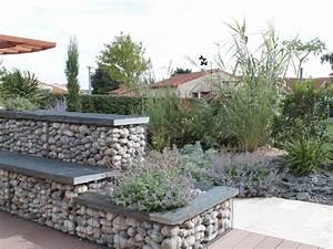 Terrasse Avec Muret : maconnerie paysag re saint paul du bois cholet dou ~ Premium-room.com Idées de Décoration