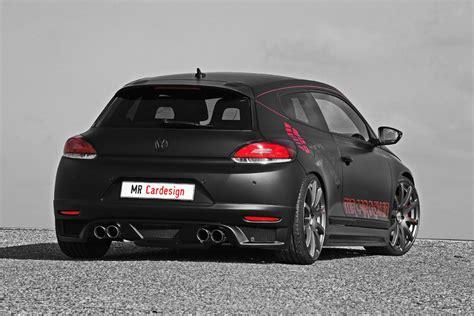 vw scirocco black rocco   car design autoevolution