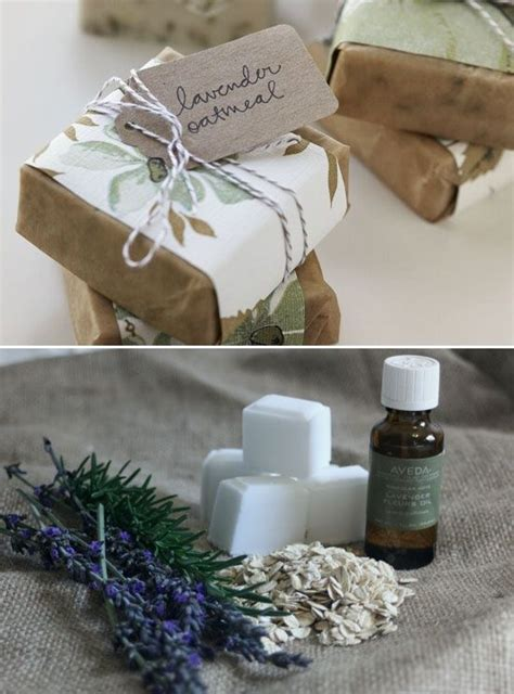 diy  lavender oatmeal soap cheap  easy holiday