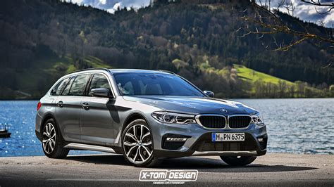 Bmw 5 Series Touring Photo by Rendering 2017 Bmw 5 Series Cross Touring