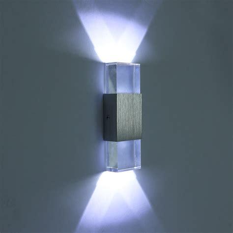 modern  indoor led wall lights   led crystal lamp