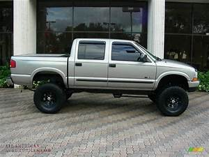 2003 Chevrolet S10 Ls Crew Cab 4x4 In Light Pewter