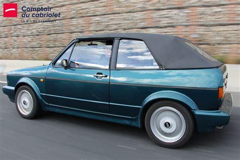 Le Comptoir Du Cabriolet by Capotes 201 Quipements Golf 1 Cabriolet Volkswagen
