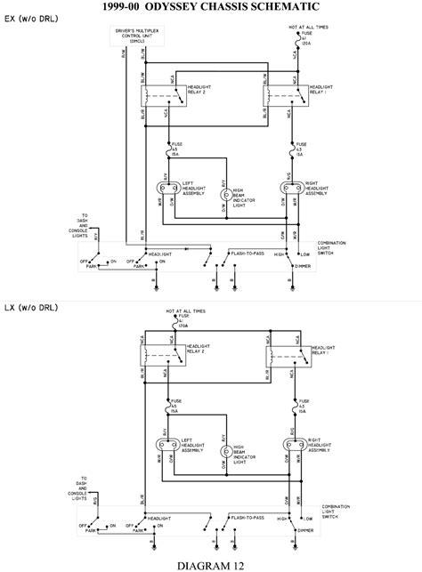 honda odyssey wiring diagram blurts me new 2004 volovets