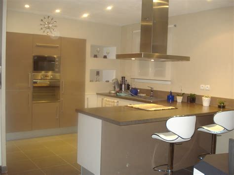 spot dans cuisine ma cuisine éclairée photo 6 7 avec des spots encastrés