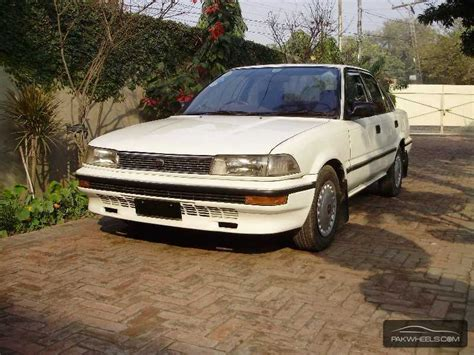 toyota corolla x 1 3 1988 for sale in lahore pakwheels