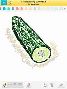 Cucumber Drawings - How to Draw Cucumber in Draw Something ...