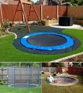 In Ground Trampolin : inground trampoline dec r pinterest ~ Orissabook.com Haus und Dekorationen