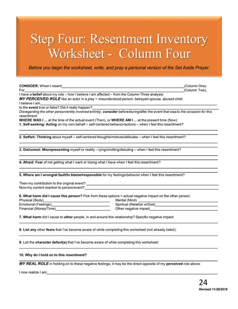 Character Defects Worksheet  The Best And Most Comprehensive Worksheets