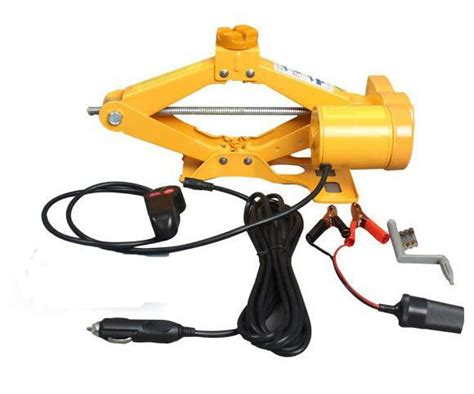 2 Ton 12 Volt Electric Car Jack Scissor Jack With Electric