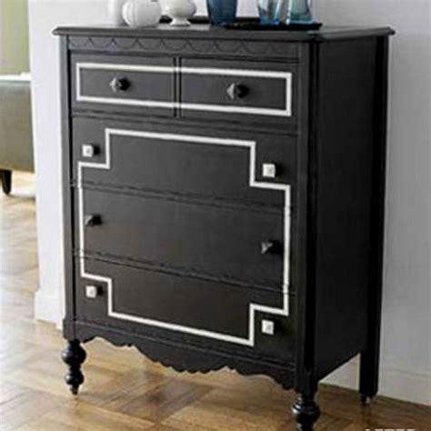 black furniture paint blackboard paint diy modern furniture decoration in black and white