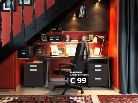 catalogue bureau idée d 39 aménagement d 39 un bureau sous un escalier ikea seb