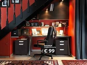 Bureau Sous Escalier : id e d 39 am nagement d 39 un bureau sous un escalier ikea ~ Farleysfitness.com Idées de Décoration