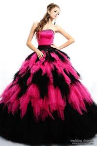 buy indian wedding decorations black n pink floor length poofy dress dresses formal
